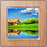 Printed Fridge Magnet (56mm X 56mm)