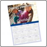 A5 Fridge Calendar, Full colour