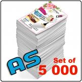 Flyers A5, 115gsm, full colour (Set of 5 000)