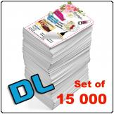 Flyers DL, 115gsm, full colour (Set of 15 000)
