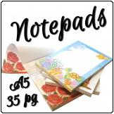 Notepads A5 Colour [20x14cm] 35page
