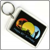 Printed Keyring (44mm X 60mm)