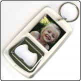 Printed Bottle Opener Keyring (32mm X 32mm)
