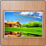 Printed Fridge Magnet (90mm X 58mm)