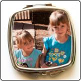 Printed Compact Mirror with same print