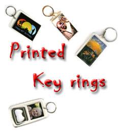 Blank Keyrings - Acrylic Key rings - Key chains - Printed key rings ... 354b831c56b4