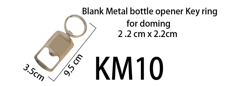 Blank Metal Keyring bottle opener (10)