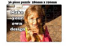 35 Piece Jigsaw puzzle (A4)