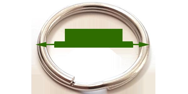 Split ring (25mm)