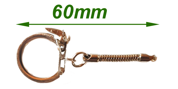 Chain 60mm with clip