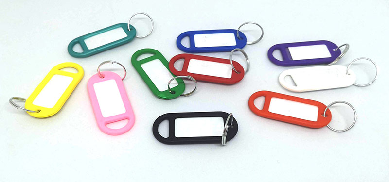 Keytag various colours 5cm (Each)