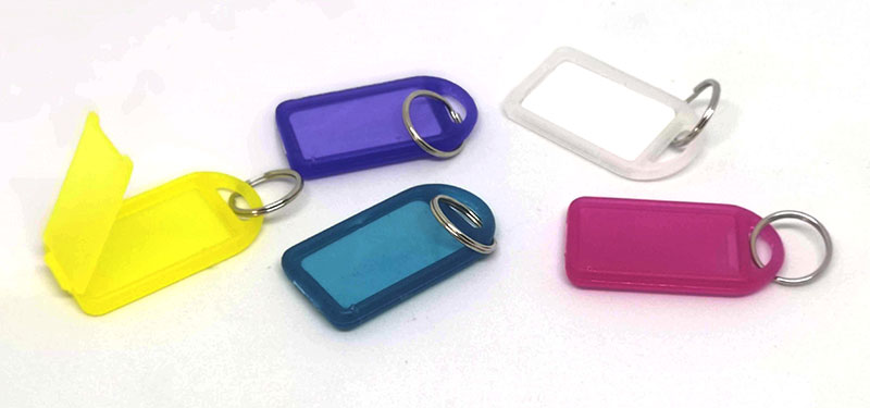 Keytag click various colours