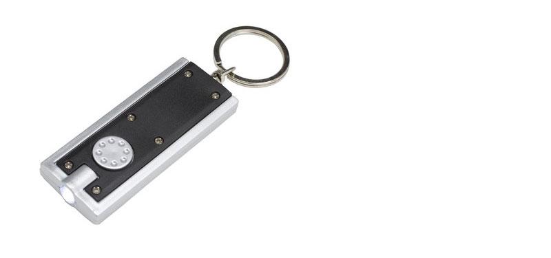 Mini LED torch keyring