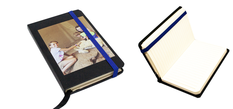 A5 Mini Notebook with Strap