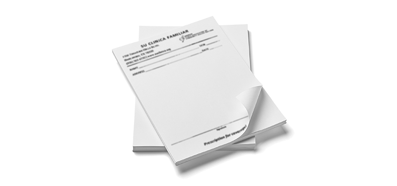 Notepads A5 BW 100 page